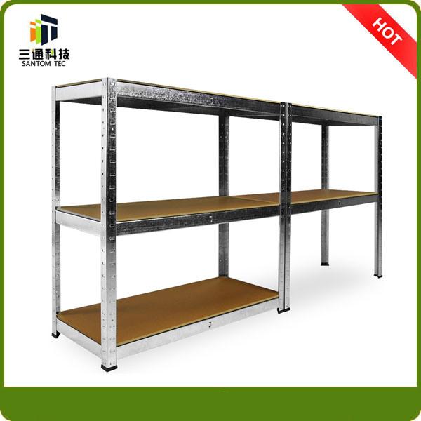 Light Duty Slotted Angle Steel Shelf, Angle Iron Rack