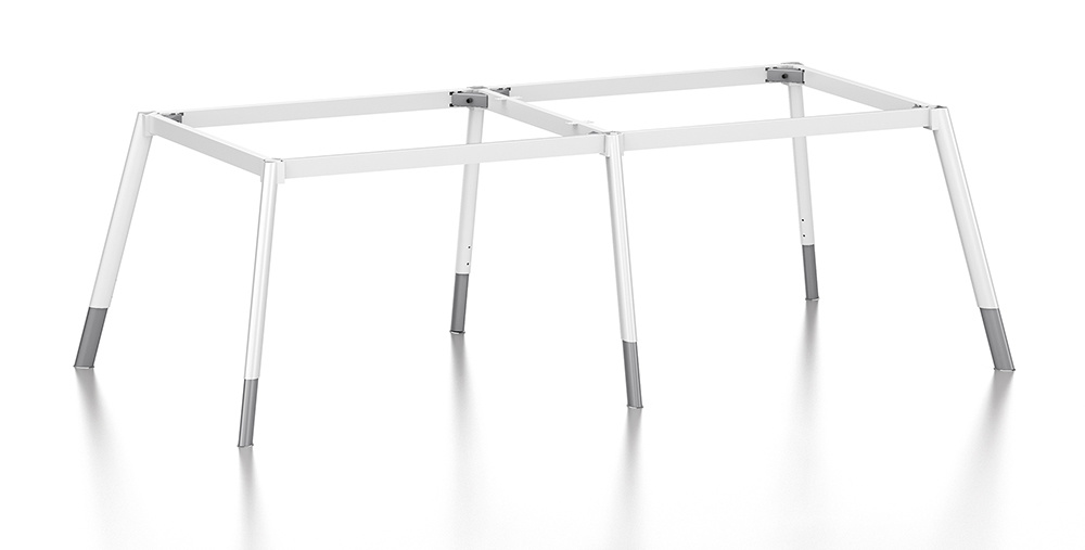 White Customized Metal Steel Office Conference Desk Frame with Ht77-3