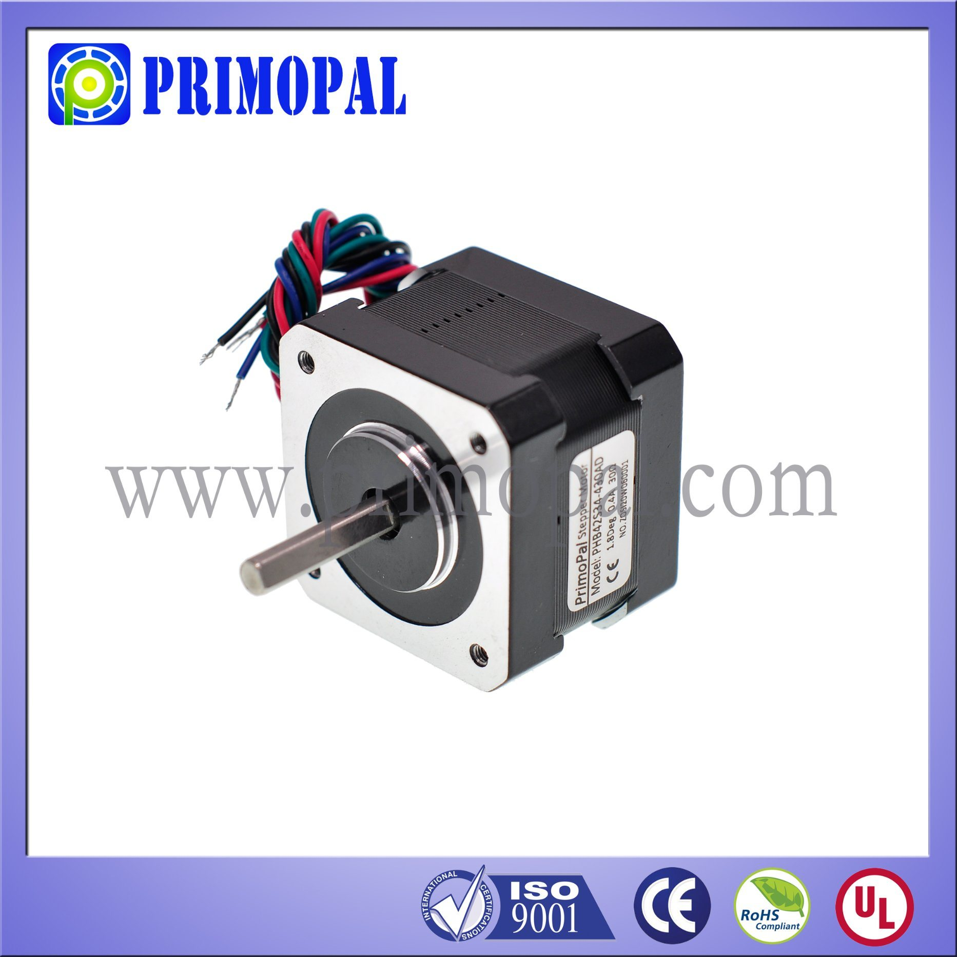 High Quality NEMA 17 Stepper Motor for 3D Printer