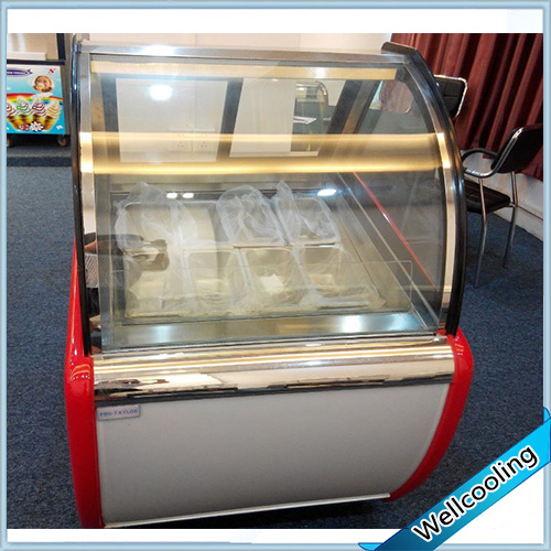 Embraco Compressor Good Quality Ice Cream Display Freezer