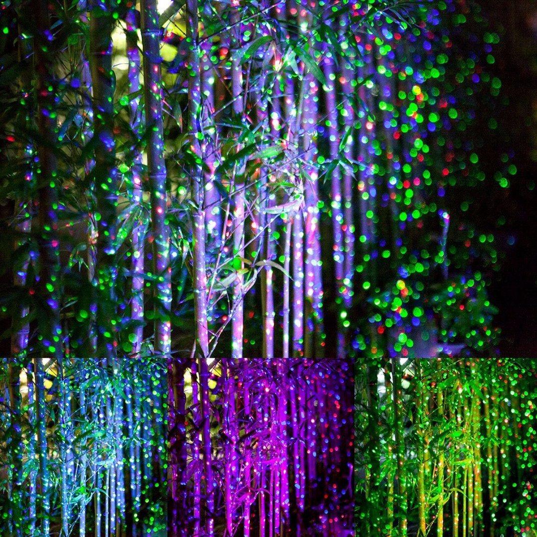 Star Night Laser Shower Christmas Lights Red/Green/Blue