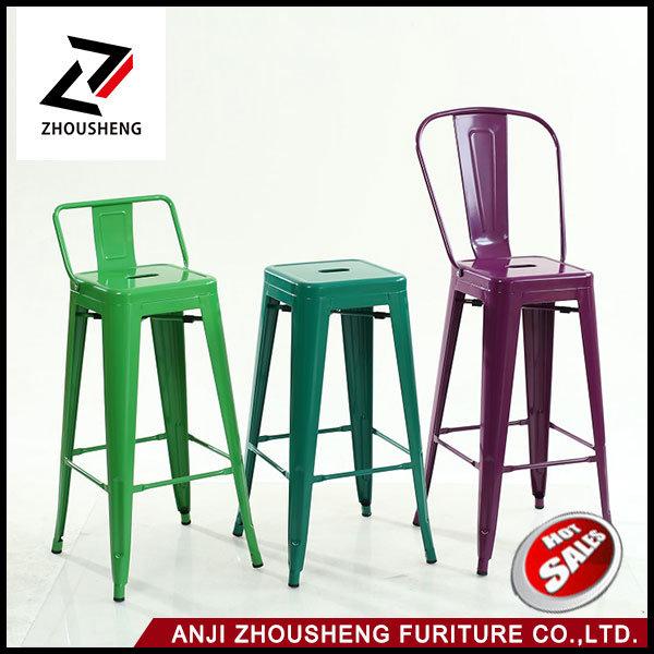 Wholesale The Cheap Bar Furniture Metal Bar Stool Bar Chair for Bistro or Bar