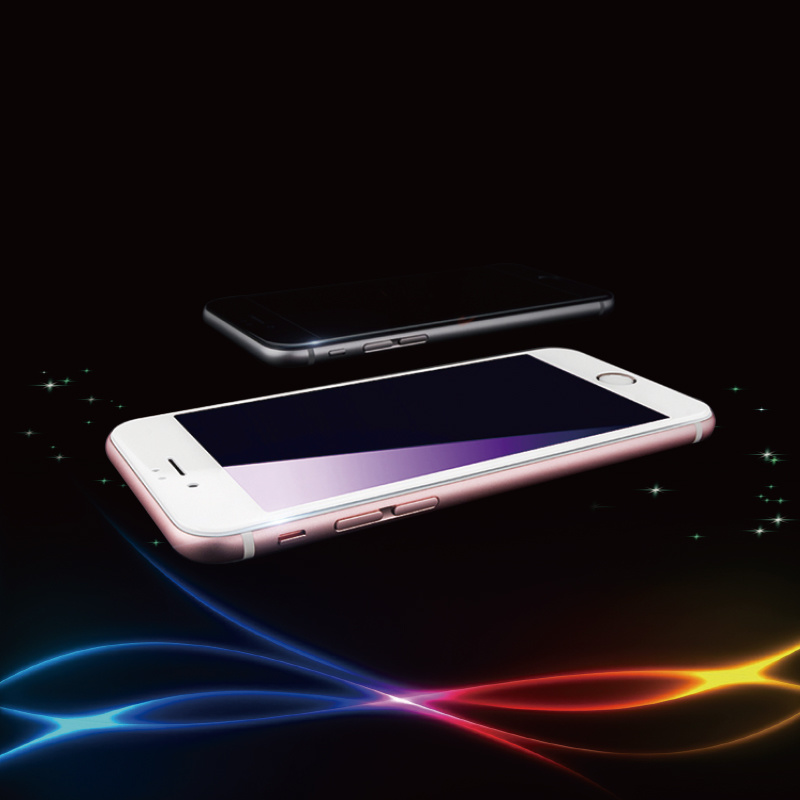 2.5D Silk Printing Explosion-Proof Tempered Glass Mobile Phone Film for iPhone Series