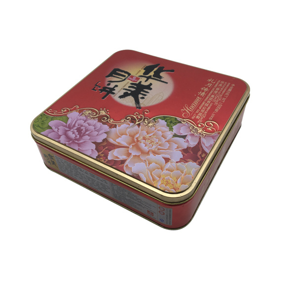 Cookie Biscuit Tin Box Round Shape Wholesale Food Tin Container