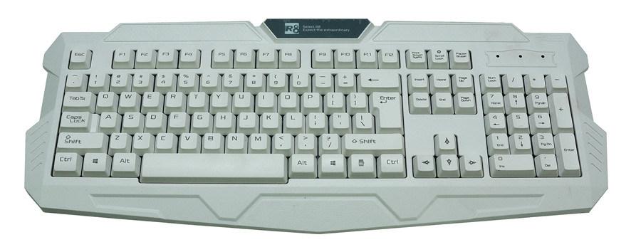 Computer Accessories Wired Standard PC Keyboard Desktop Key Board