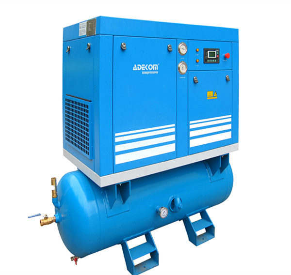 Full Feature Compact Lubricated Screw Air Compressor (KA7-08D)