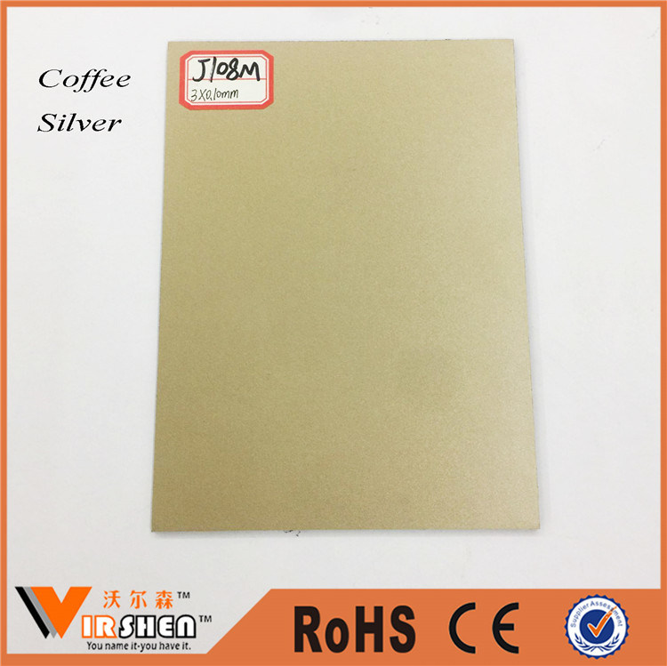 Coffee Color Aluminum Composite Panel /PVDF Building Decorative Materials
