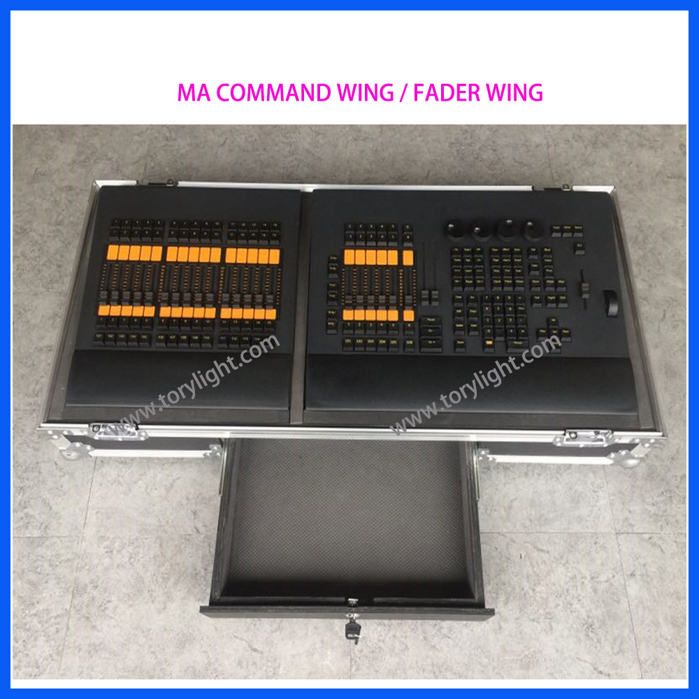 Club DJ Equipment Lighting Console Ma Fader Wing Controller
