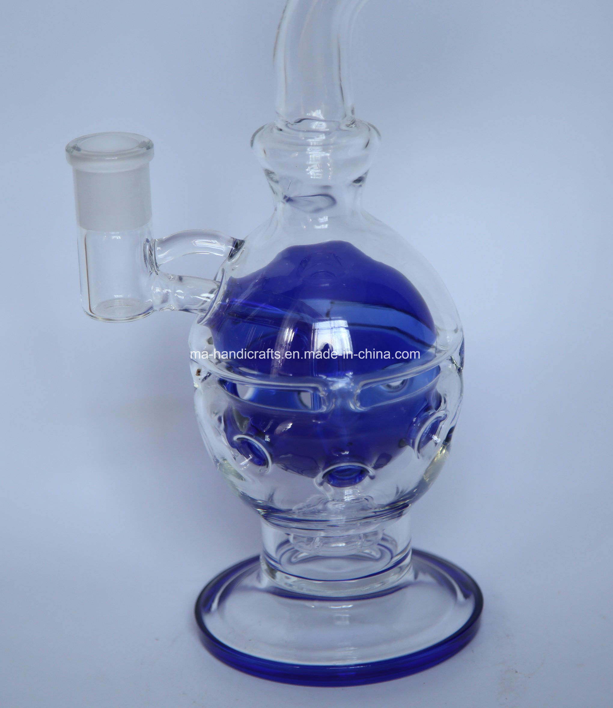 """12"""" Mothership Glass Water Pipes Faberge Egg"""