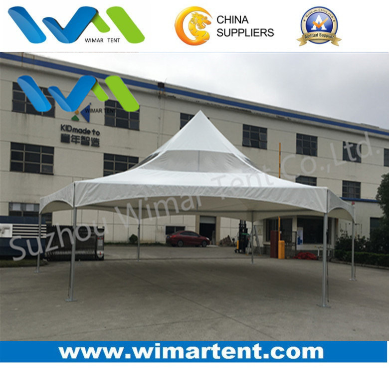 10X10m Hexagonal Pinnacle High Peak Frame Canopy Tent