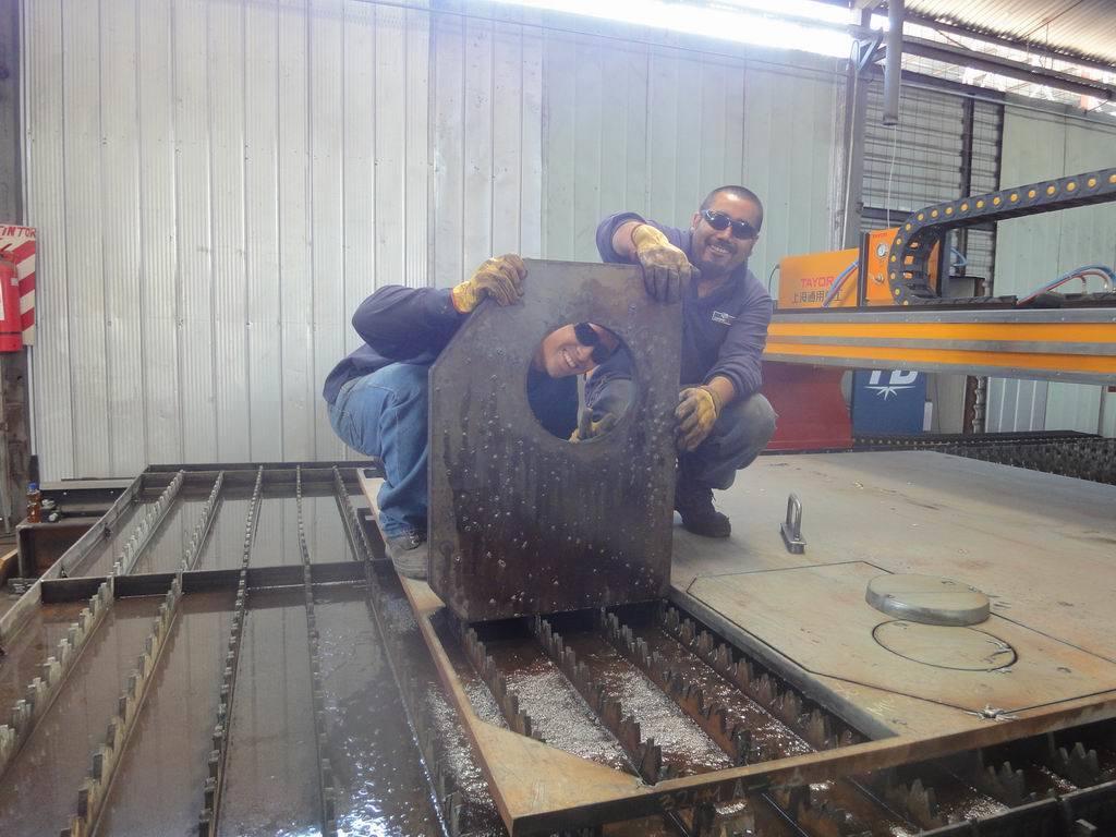 4X12m High Precision Steel Plate CNC Plasma Cutter
