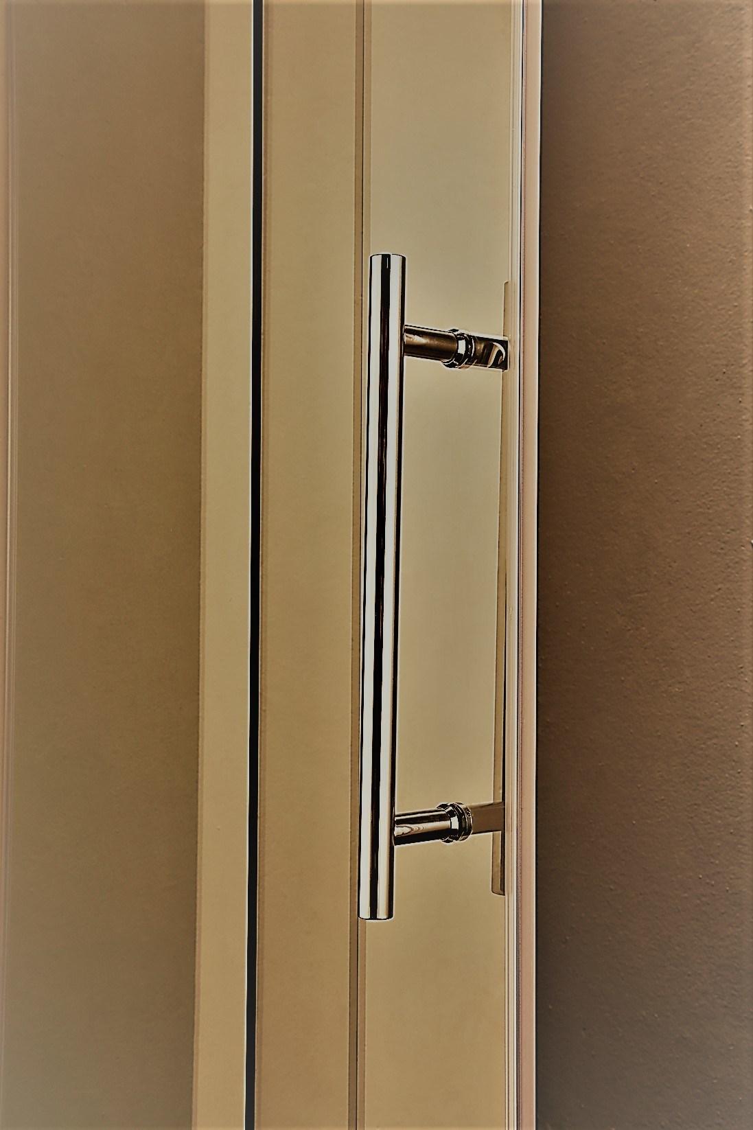 NA-04-D Double Roller Sliding Shower Door