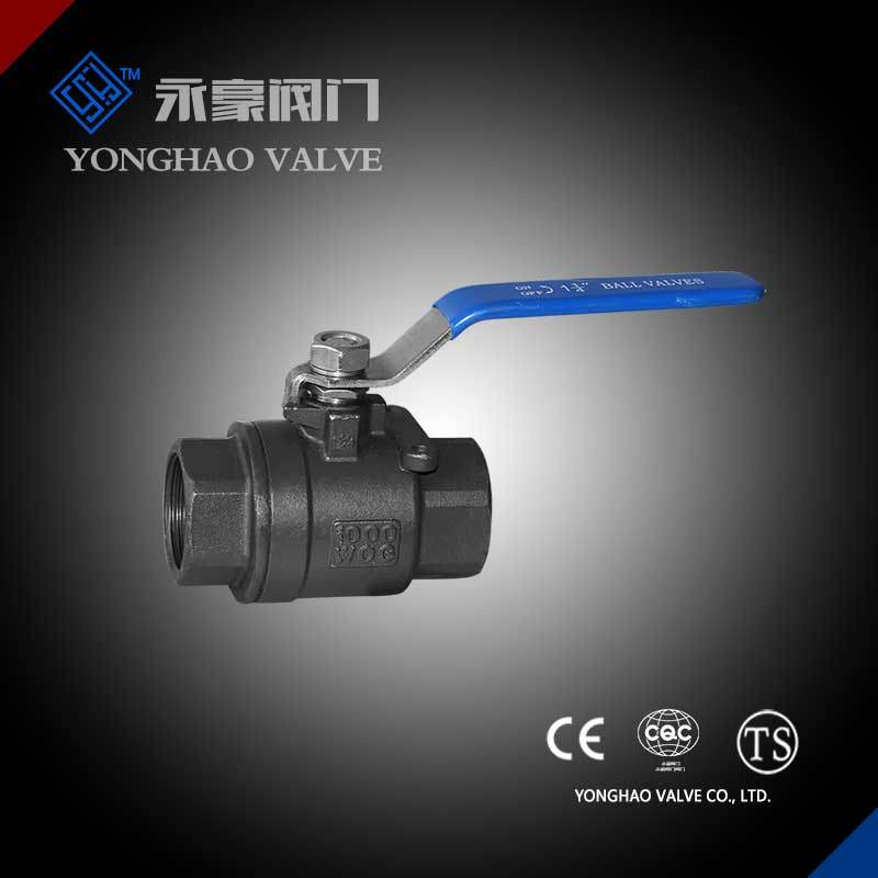Carbon Steel 2PC Ball Valve
