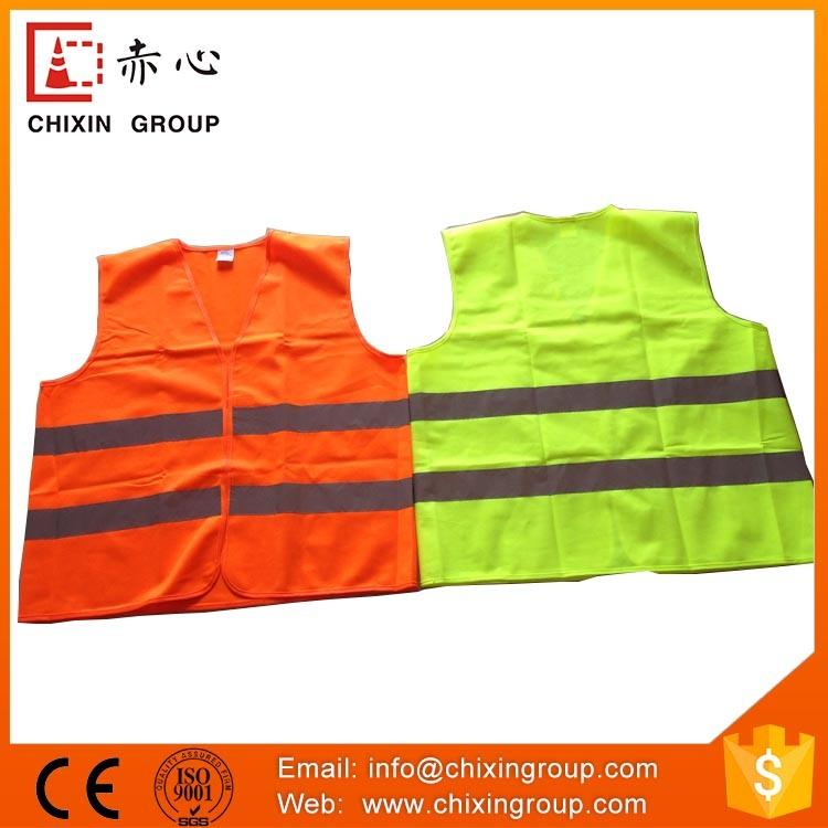 Yellow & Orange Reflective Safety Vests (CC-V01)