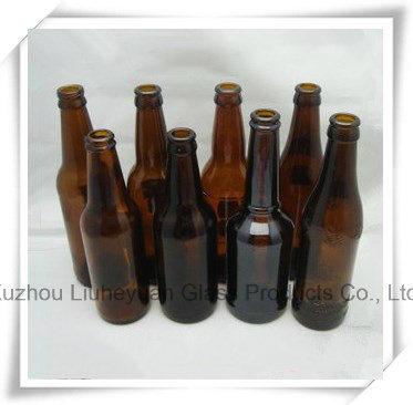 660ml Brown Glass Beer Bottles, Beverage Bottles