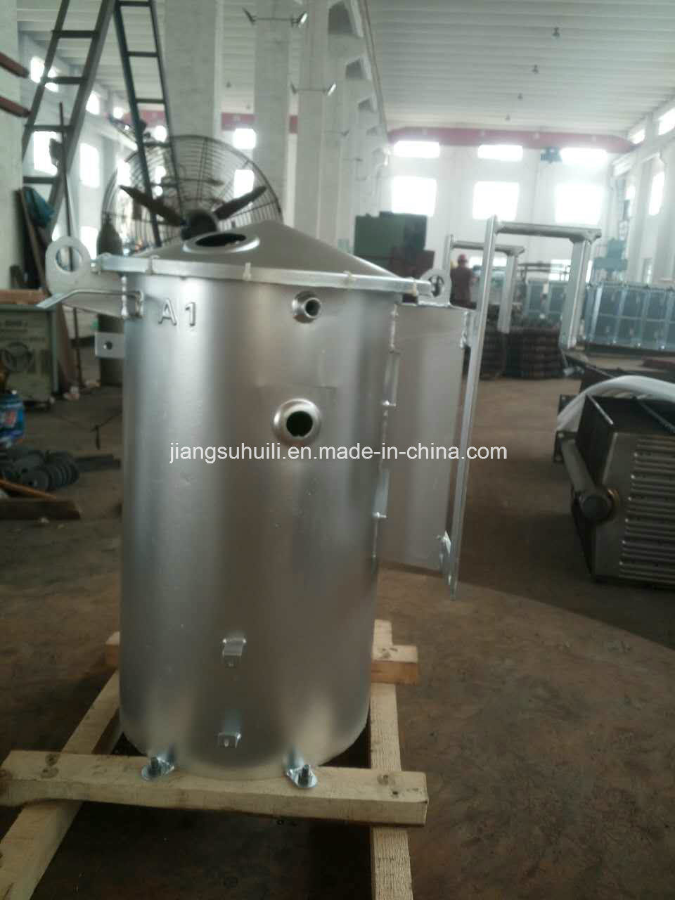 50 kVA Galvanised Transformer Round Tanks