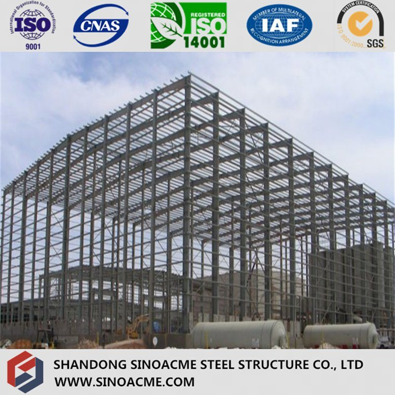 Steel Structure Construction Workshop Shed
