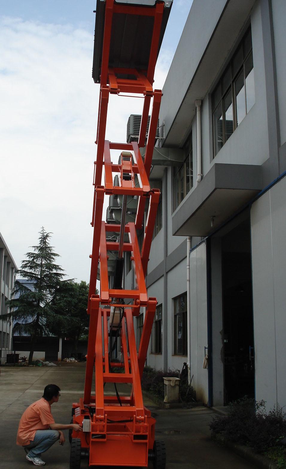 6m Electric Scissor Lift with CE Certificate (JCPTZ610HD)