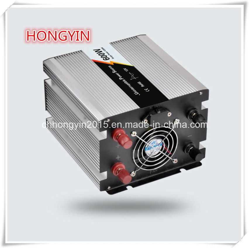 600W DC to AC Pure Sine Wave Power Inverter with Charger