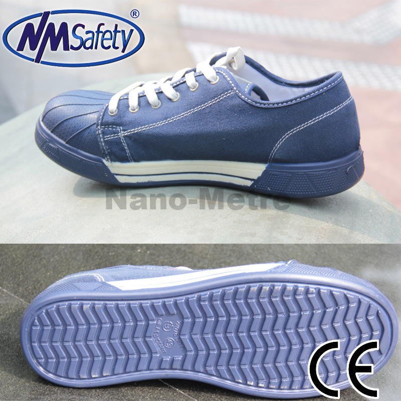 Nmsafety Canvas Work Protection Safety Shoes