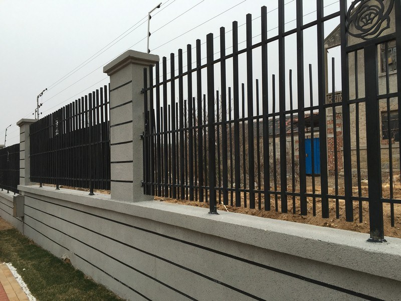 Galvanized Steel Pipe, Wrought Iron Fence