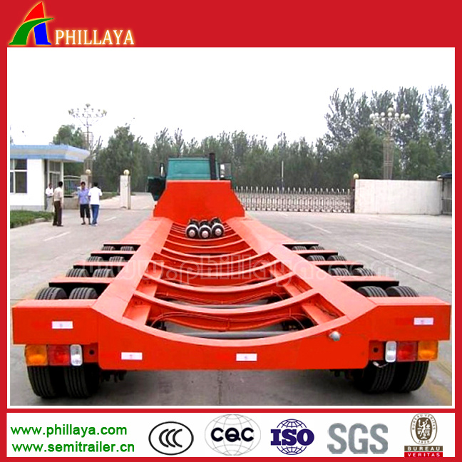 4 Axles Extendable Wind Blade Transport Trailer