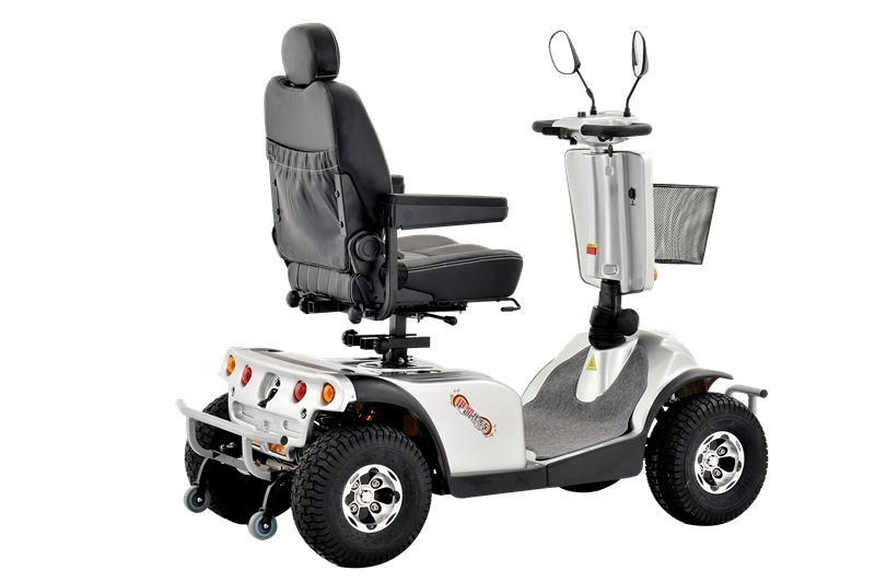 Four Wheels Double Seat Mobility Scooter, 1300W Mobility Scooter