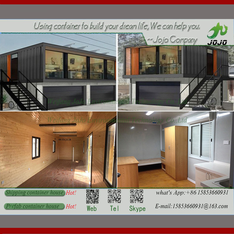 Cheap Hotel 20FT Standard Portable Prefab Shipping Container Homes for Sale for Pakistan/Modular Home