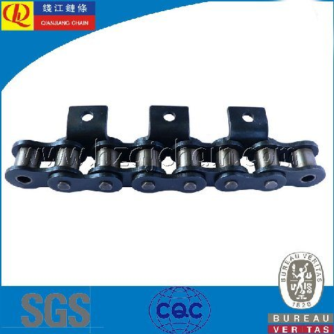 Short Pitch Roller Chain with Attachments (08BA1)