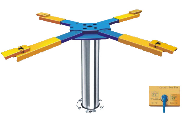 China Automotive Single Post Lifts For Car Repairing