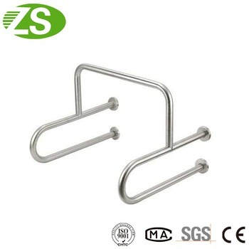 Safety Handicap Toilet 304 Stainless Steel Grab Bar