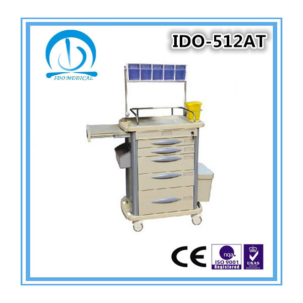 Ce ISO Approved ABS Anesthesia Trolley
