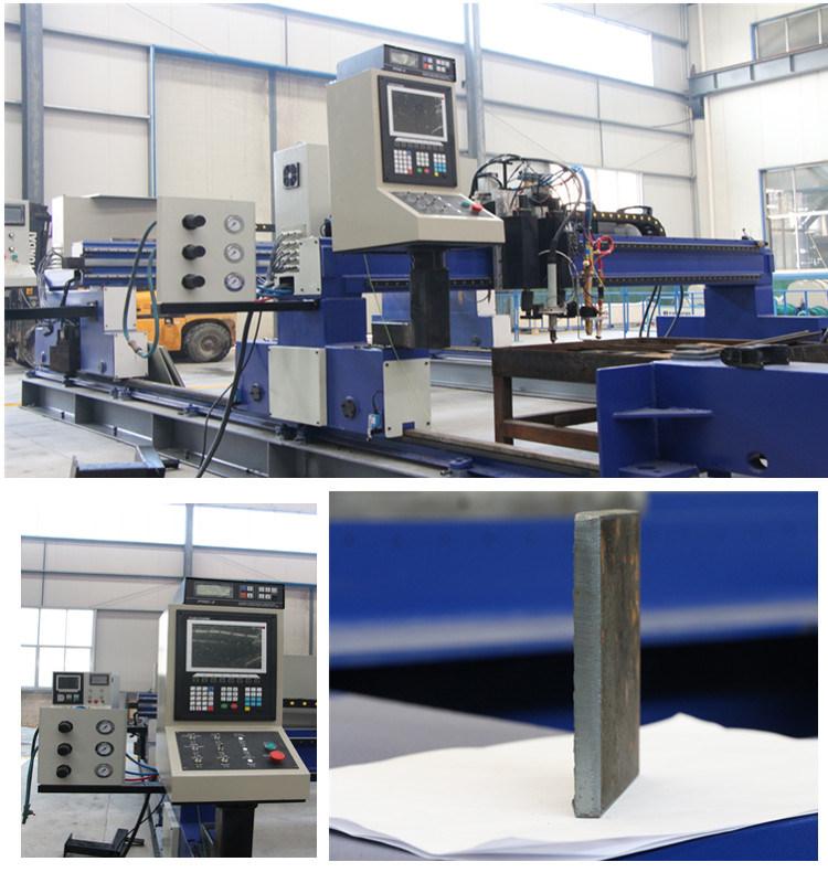 CNC Plasma and Flame Strip Cutting Machine