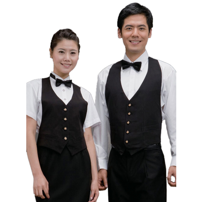 China hot sale waiter uniforms and restaurant