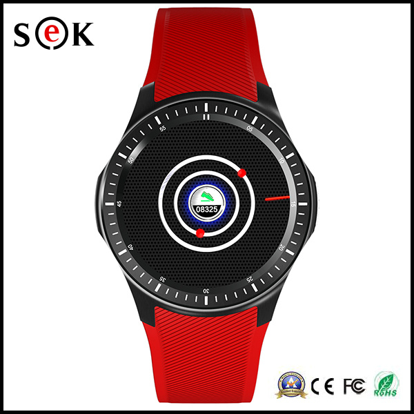 Factory Wholesale Dm368 Smart Watch Phone 8 GB Memory Bluetooth WiFi GPS Tracker Smart Watch with SIM Card Slot
