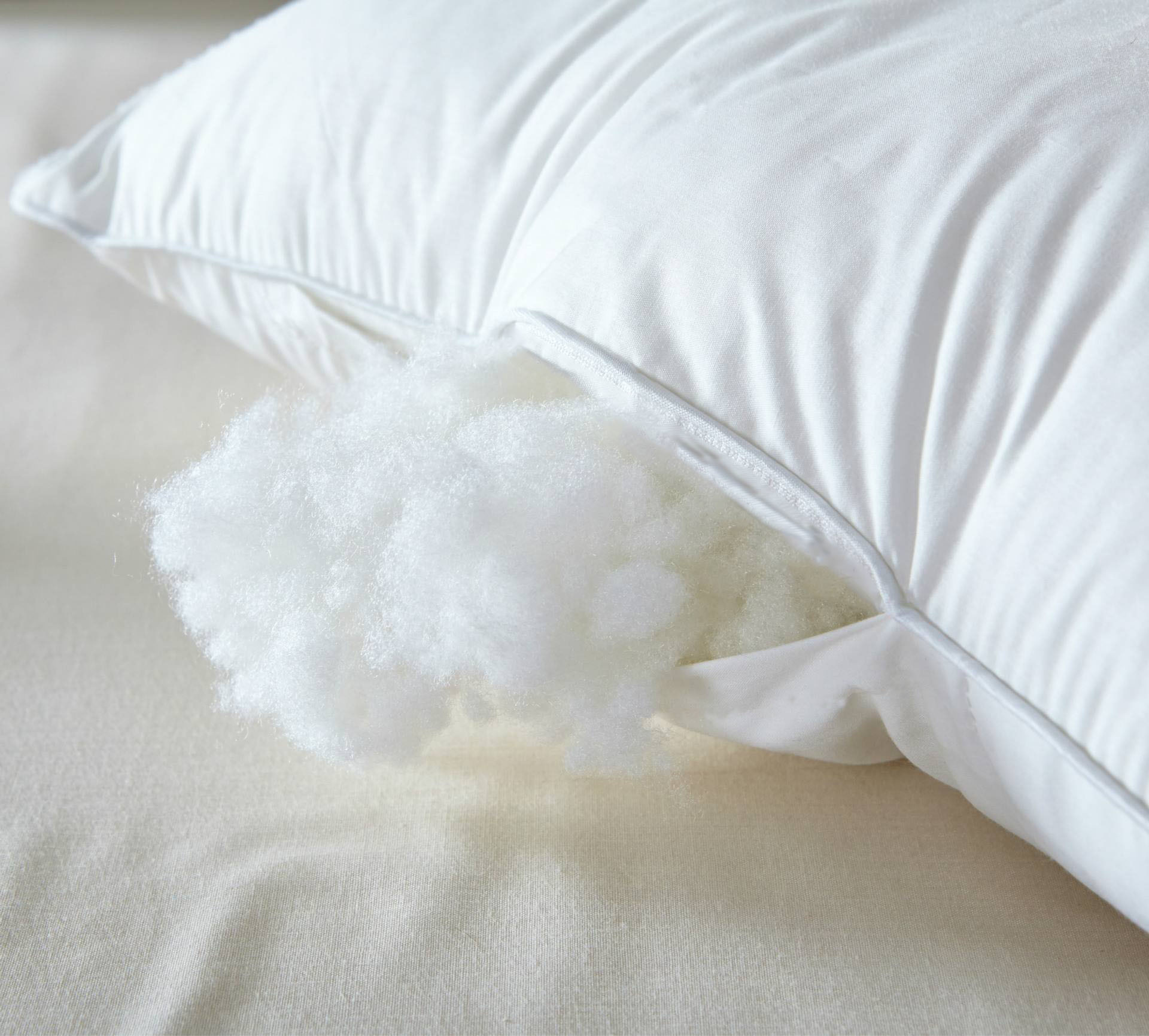 Soft & Medium Down Alternative Microfiber Pillow with Cotton Fabric