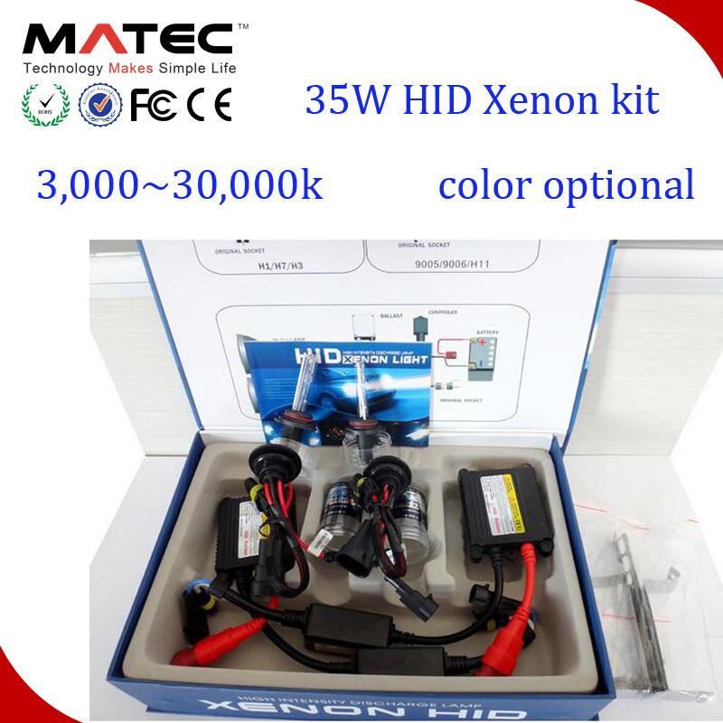 Smart 35W/55W Slim Ballast H5 H7 H4 H13 H11 9005 9006 Canbus HID Bi Xenon Kit