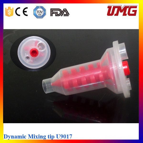 Dental Silicone Impression Material Dental Mixing Tips