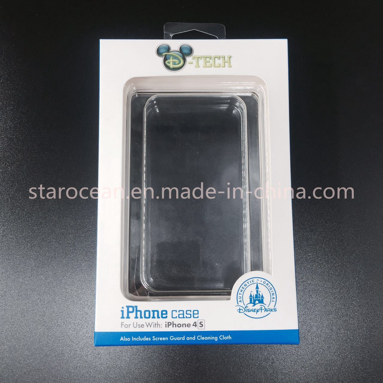 Blister Clamshell with Plastic Packaging Box