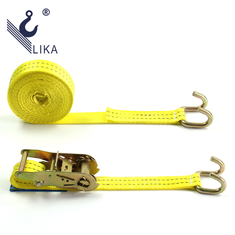 TUV GS Certified 35mm*2t Claw Hook Cargo Lashing Ratchet Tie Down