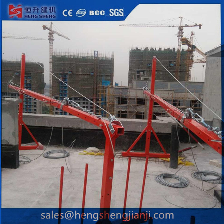 Suspended Gondola Platform Machine for Clean Glass