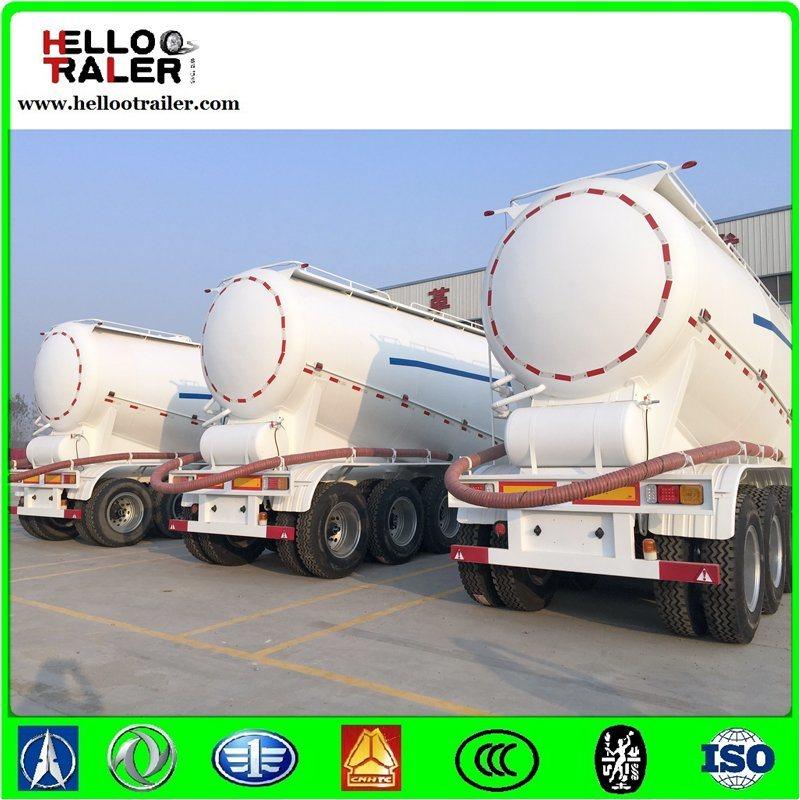 Cimc Quality 3 Axle 40cbm Bulk Flour Trailer