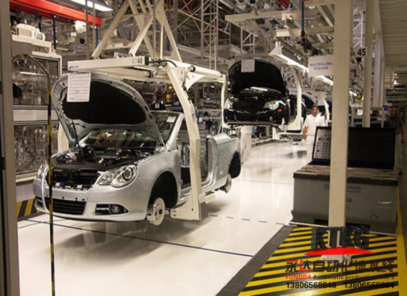 Fully Automatic Car Assembly Line