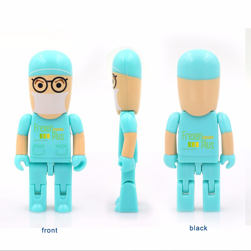 USB Flash Drive USB Flash Disk OEM Logo Doctor USB Healthcare Industry Gifts USB Pendrives Flash Card USB2.0 Flash Drive Memory Stick