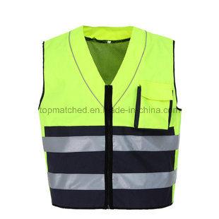 En 20471 Hi-Vis Reflective Running Vest for Outdoor Sports
