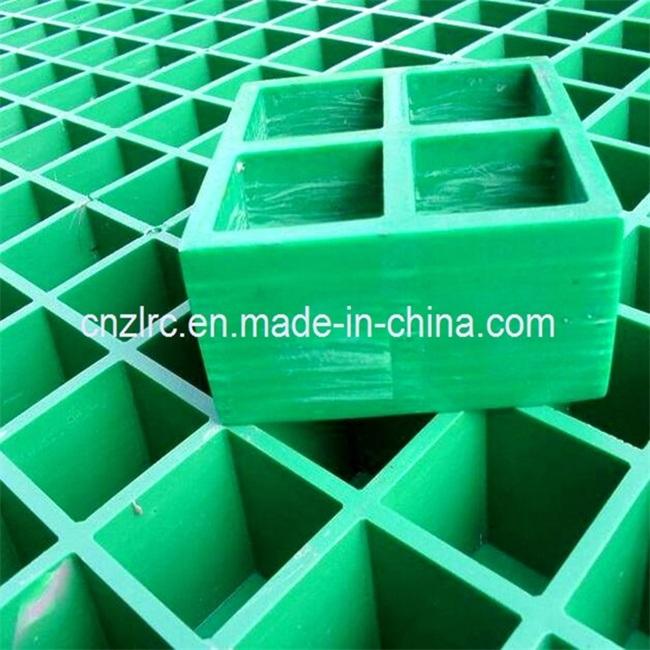 Alkali-Resistant FRP GRP Fiberglass Molded Grating Mesh