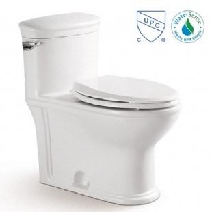 Cupc Certification Closet Ceramic Toilet for Canadian Market (2195)
