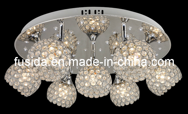 2013 Newest Exquisit Handcraft Crystal Ceiling Lighting with LED