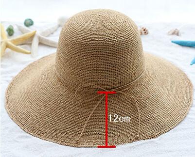 Fashion Basic Straw Paper Sun Hat