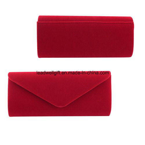 Wedding Evening Party Velvet Clutch Bag Retro Envelope Cross Body Handbag